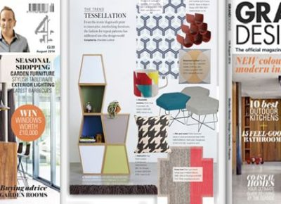 Pollen stools in Grand Designs magazine!