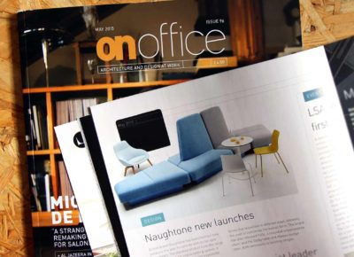 naughtone 'new launches' – onoffice mag