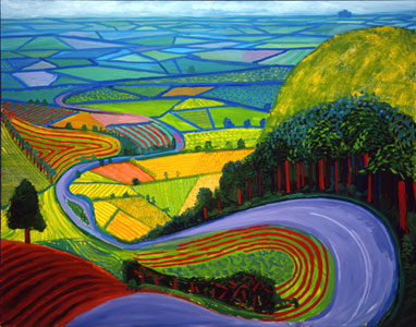 garrowby_hill_1998 oil on canvas