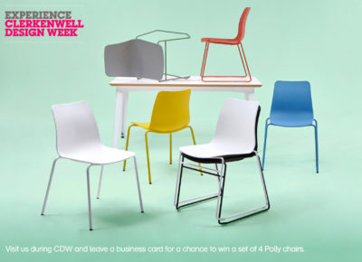 Clerkenwell Design Week: Polly Comp