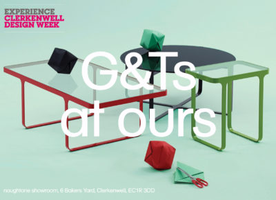 Clerkenwell Design Week: G&Ts at naughtone