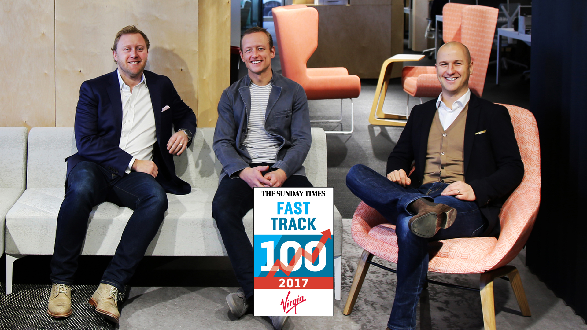 naughtone placed number 39 in Sunday Times Virgin Fast Track 100
