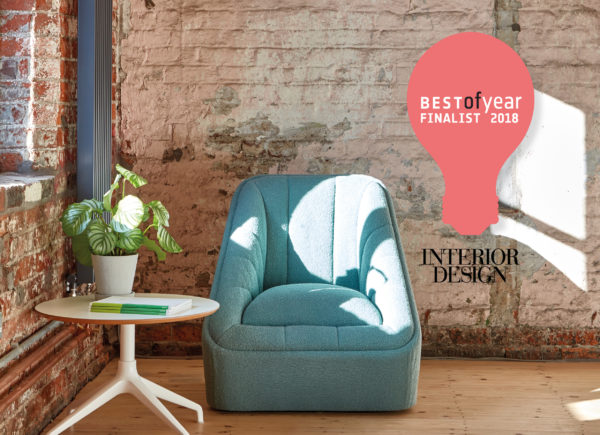 Fiji chair named as Interior Design Best of Year Awards finalist 2018