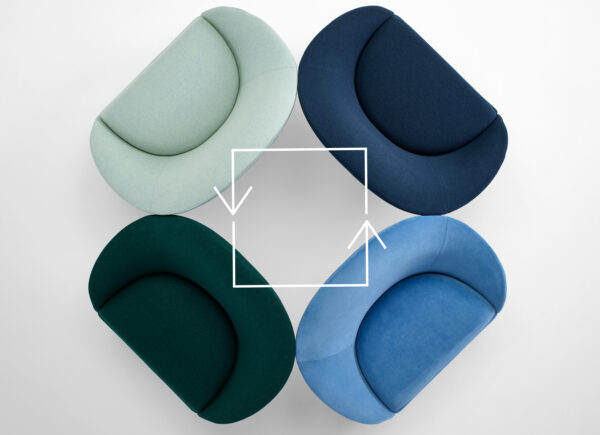 Seating for Circularity: Naughtone launches Sofa Designed With the End in Mind