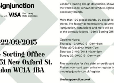 exciting new products at designJunction