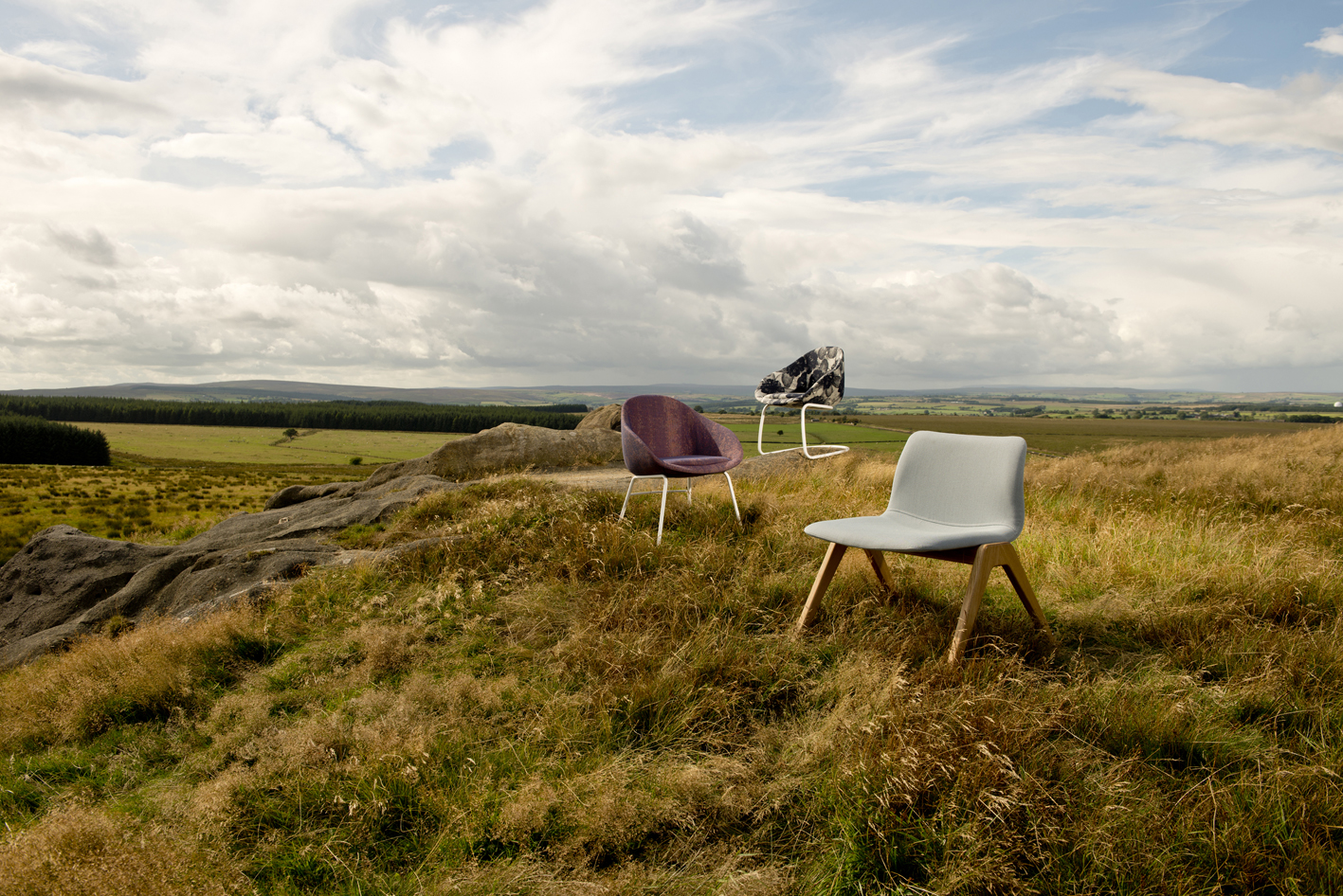 landscape always chair and viv wood lounge