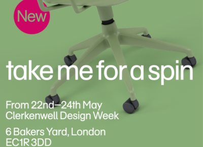 naughtone but two product launches for Clerkenwell Design Week